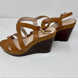 Vince Camuto Strappy Wedge Sandals! 8.5